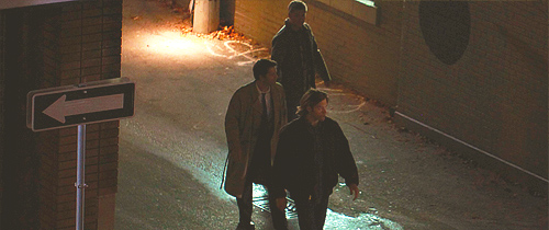 Supernatural - J2M On Set