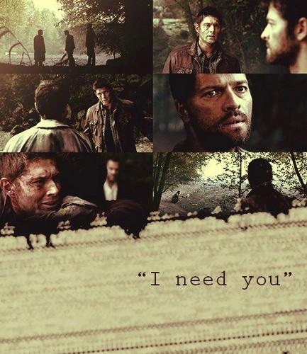 Cas and Dean