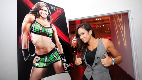 "THQ holds ""WWE '13"" press event in New York City"