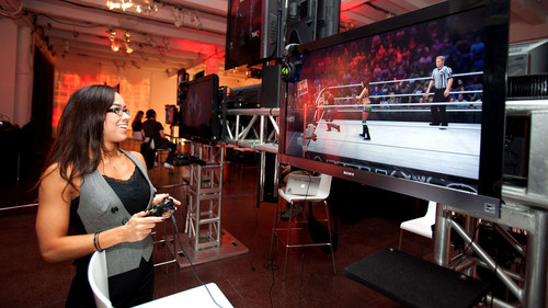 """THQ holds """"WWE '13"""" press event in New York City"""