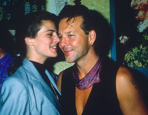 Terry Farrell & Mickey Rourke
