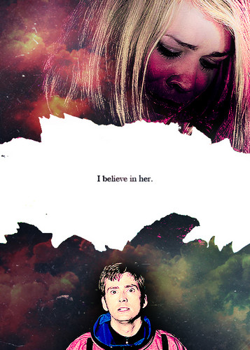 The Doctor and Rose wallpaper probably containing a sign and anime called The Doctor and Rose