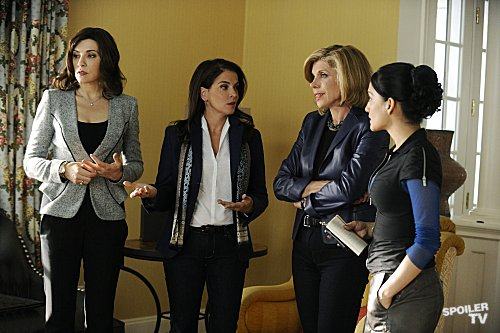 The Good Wife - Episode 4.05 - Waiting for the Knock - Promotional foto