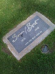The Gravesite Of Sonny Bono