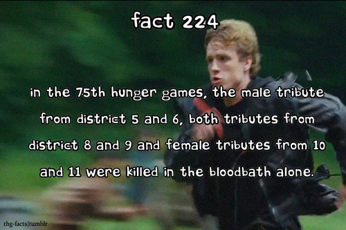 The Hunger Games wallpaper called The Hunger Games facts 221-240