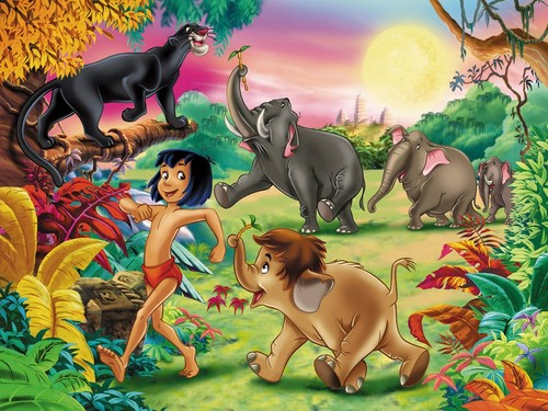 The Jungle Book wallpaper with anime titled The Jungle Book
