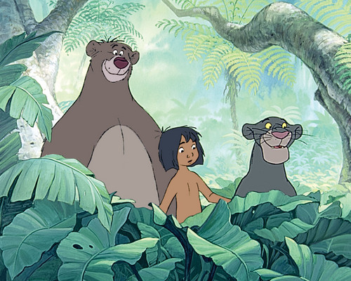 The Jungle Book Обои possibly containing Аниме titled The Jungle Book