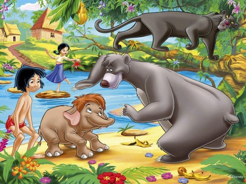 The Jungle Book wallpaper entitled The Jungle Book