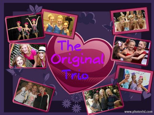 The Original Trio Collage
