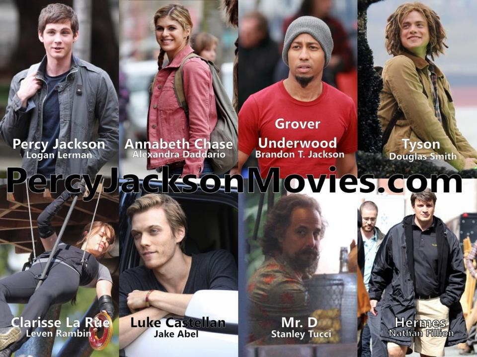 The Sea of Monsters cast - The Heroes of Olympus Photo ...
