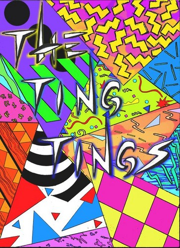 the ting tings Hintergrund containing Anime entitled The Ting Tings