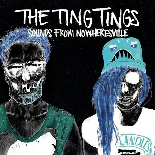 the ting tings Hintergrund probably with Anime called The Ting Tings