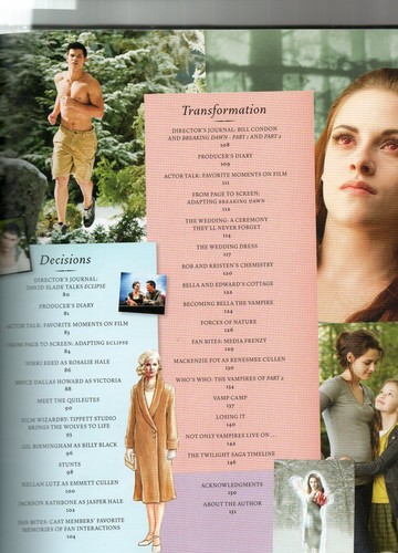 The Twilight Saga: The Complete Film Archive scans
