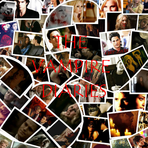 The Vampire Diaries Collage