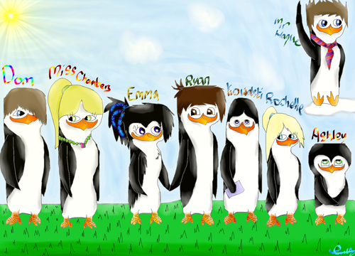 The main characters from my fanfic. :3