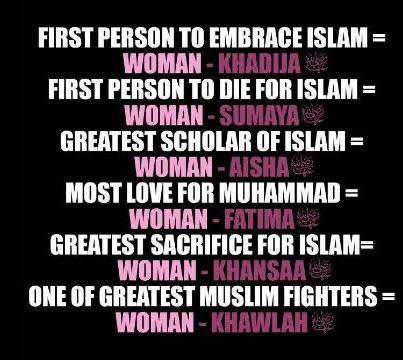 The women in islam