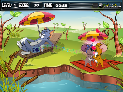 Tom and Jerry Games at Dressup24h.com
