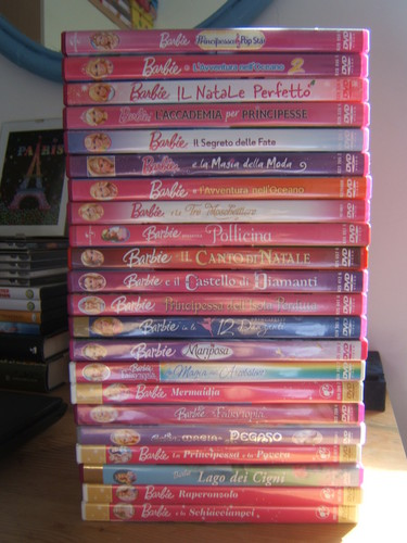 Barbie films achtergrond entitled Updated BMs collection