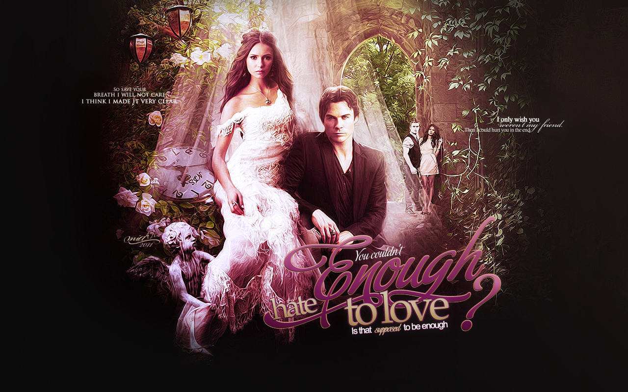 Eternity Of Love Vampire Diaries love foreverVampire Love Wallpaper