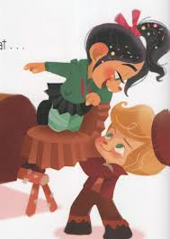 Vanellope and Rancis