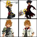 Ven,Vanitas,Sora,Roxas - kingdom-hearts photo