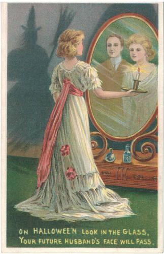 Vintage Хэллоуин postcard