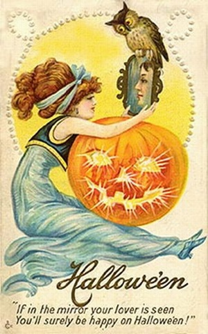 Vintage Images Halloween Postcard Wallpaper And Background Photos