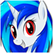Vinyl Scratch - my-little-pony-friendship-is-magic icon