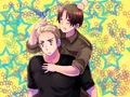 Stars and Piggyback Rides - hetalia wallpaper