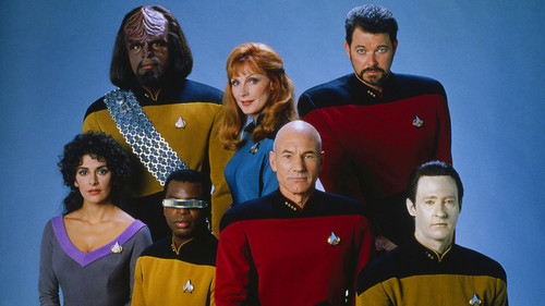 Star Trek-The Next Generation wallpaper with a tabard called Wallpaper