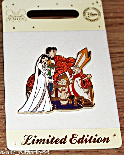 Walt Disney Pins - Vanessa, Prince Eric & The Priest