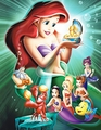 Walt disney Posters - The Little Mermaid: Ariel's Beginning