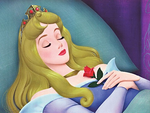Walt Дисней Production Cels - Princess Aurora