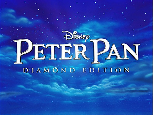 Walt Disney Screencaps - Peter Pan: Diamond Edition tiêu đề Card