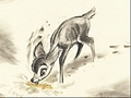 Walt disney Sketches - Bambi