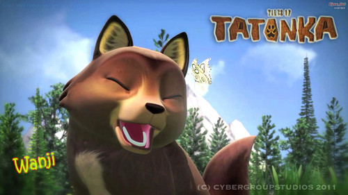 Wanji loup Tales of Tatonka fond d'écran