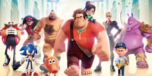Wreck it ralph playerss