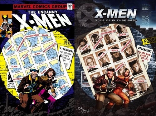 X-Men: Days of Future Past 바탕화면 with 아니메 called X-Men: Days of Future Past