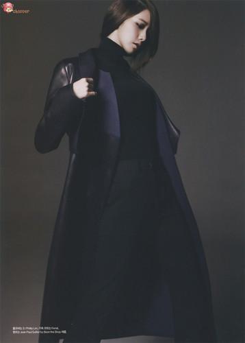 Yoona for October Issue of 'Harper's Bazaar' Magazine