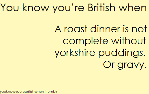 आप know your british when .....