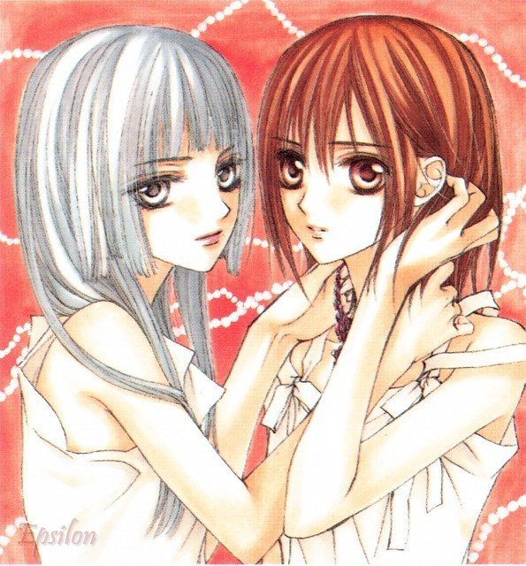 Yuki Cross and Maria Kurenai(best pic of them!)