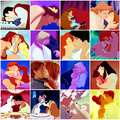 Aladin kisses