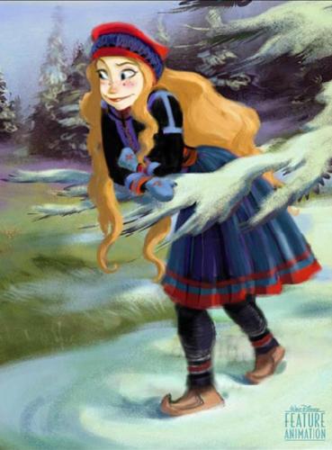 another Princess Anna concept art