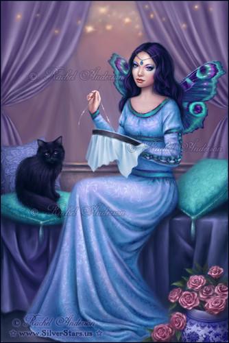 Fairies achtergrond containing a avondeten, diner dress titled Ariadne