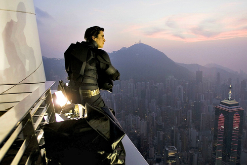 christian filming the dark knight