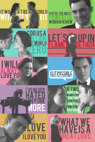 chuck & blair kutipan » season four
