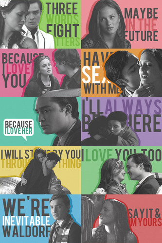 chuck & blair citations » season two