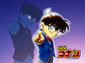 conan and ran - detective-conan wallpaper