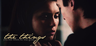 Damon & Elena wallpaper with a portrait titled delena love