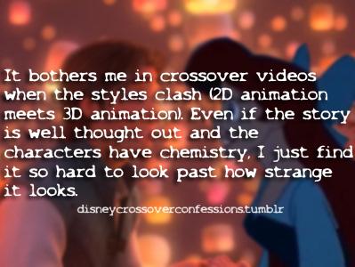 迪士尼跨界(crossover)